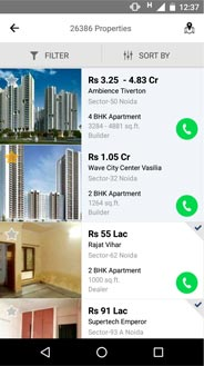 Real Estate Android / IOS Mobile Apps - Search properties