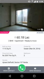 Real Estate Android IOS Mobile Apps