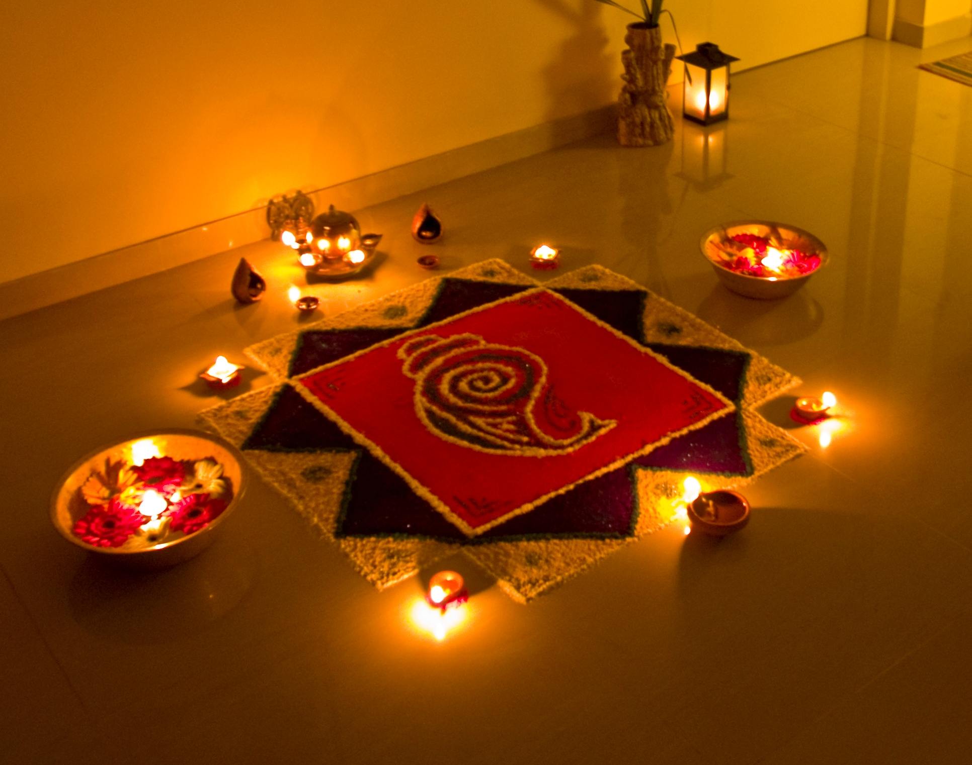 Colours you can use in your home this Diwali