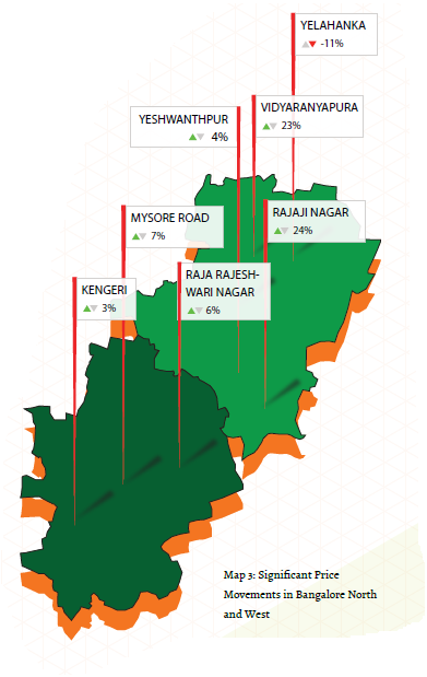 Bangalore NW Map