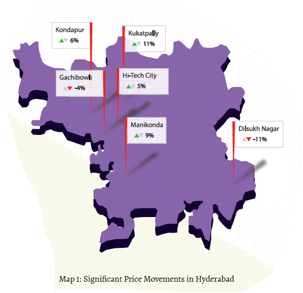 Hyderabad city map