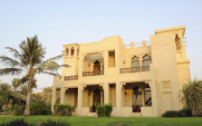 Vacation at villa in luxurious hotel, Dubai, UAE
