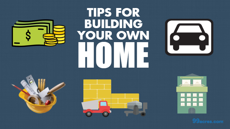 Tips to build your dream home on a plot of land for Build your own home website