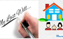 Division of property through a will
