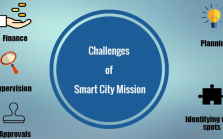 challenges for smart city mission