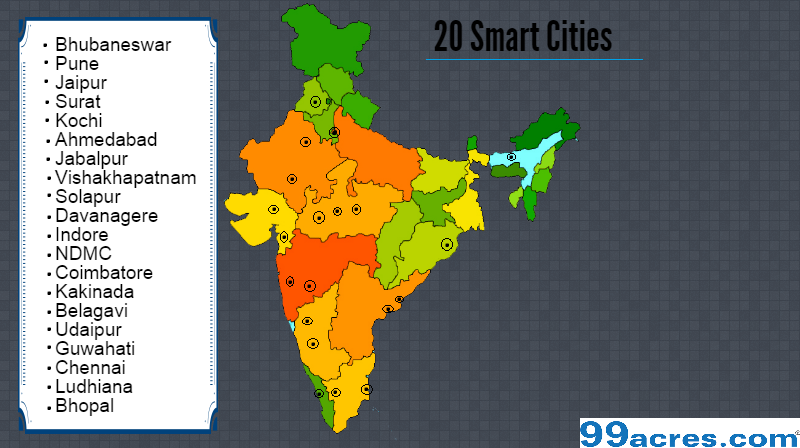 First list of 20 smart cities receives positive response from real first list of 20 smart cities receives positive response from real estate industry gumiabroncs Choice Image