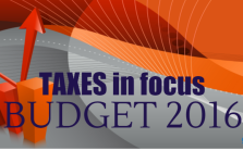 Tax reforms, Union budget 2016