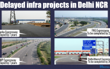 Delayed infra projects in Delhi NCR