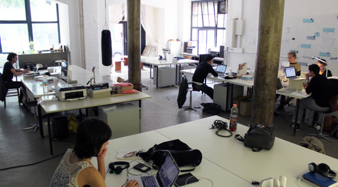 all about co-working spaces
