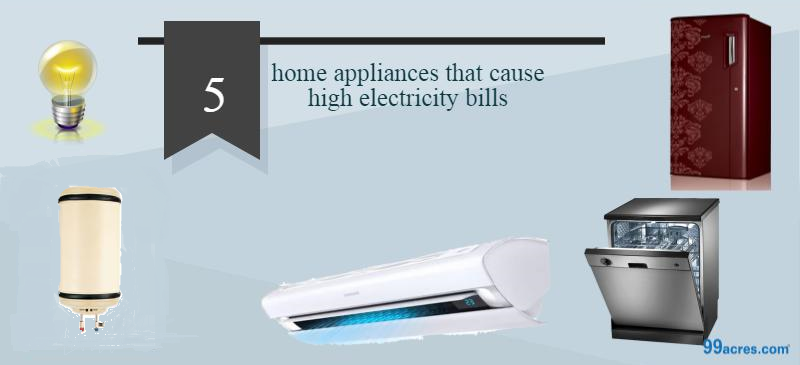 home appliances that increase electricity bill