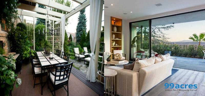 How to apply vastu to outdoor spaces?