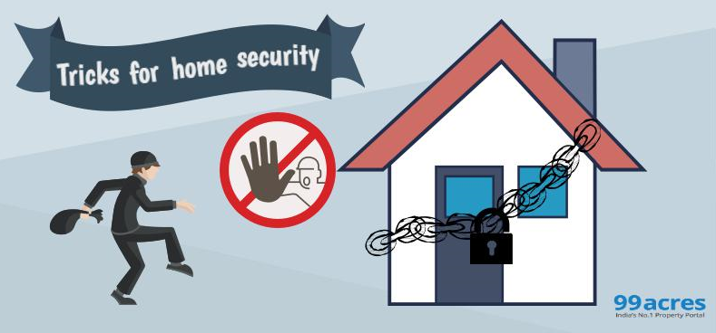 Guidelines to make apartments more secure