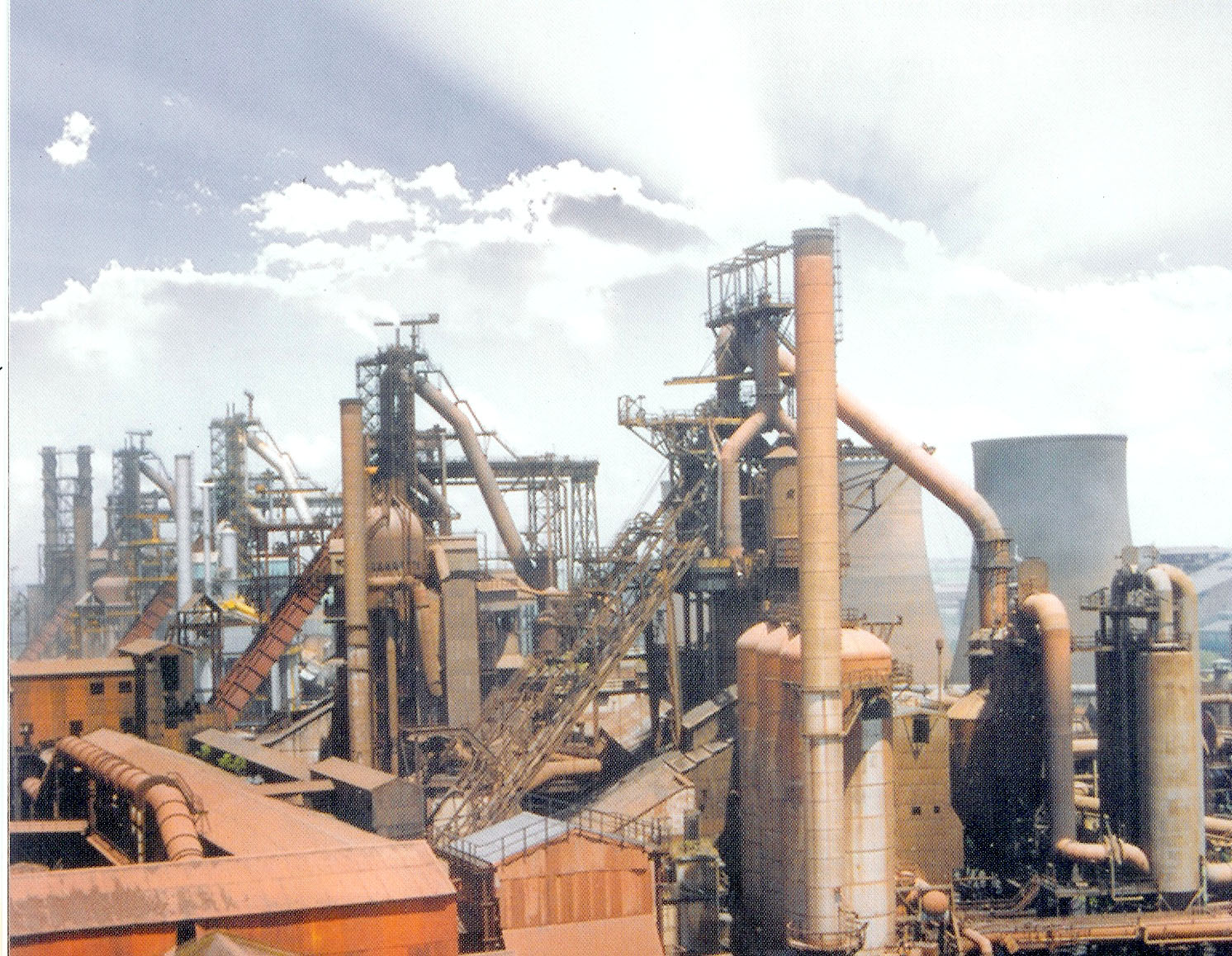 largest steel plant in world