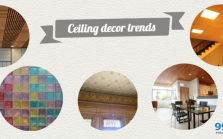 ceiling decor trends