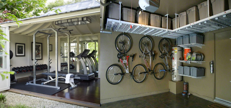 Tips for converting a garage into home gym