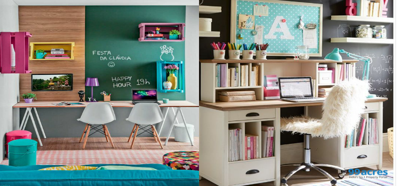 essentials for designing study room for kids rh 99acres com kids study room paint ideas