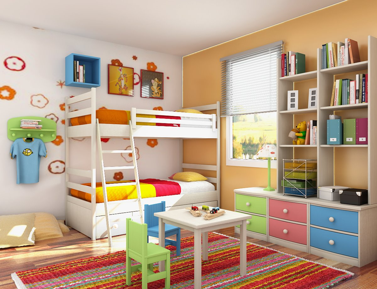Tips For Decorating The Kid S Room