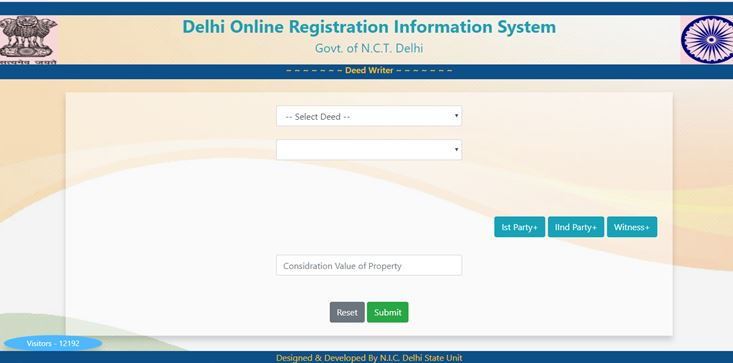 Online Property Registration in Delhi