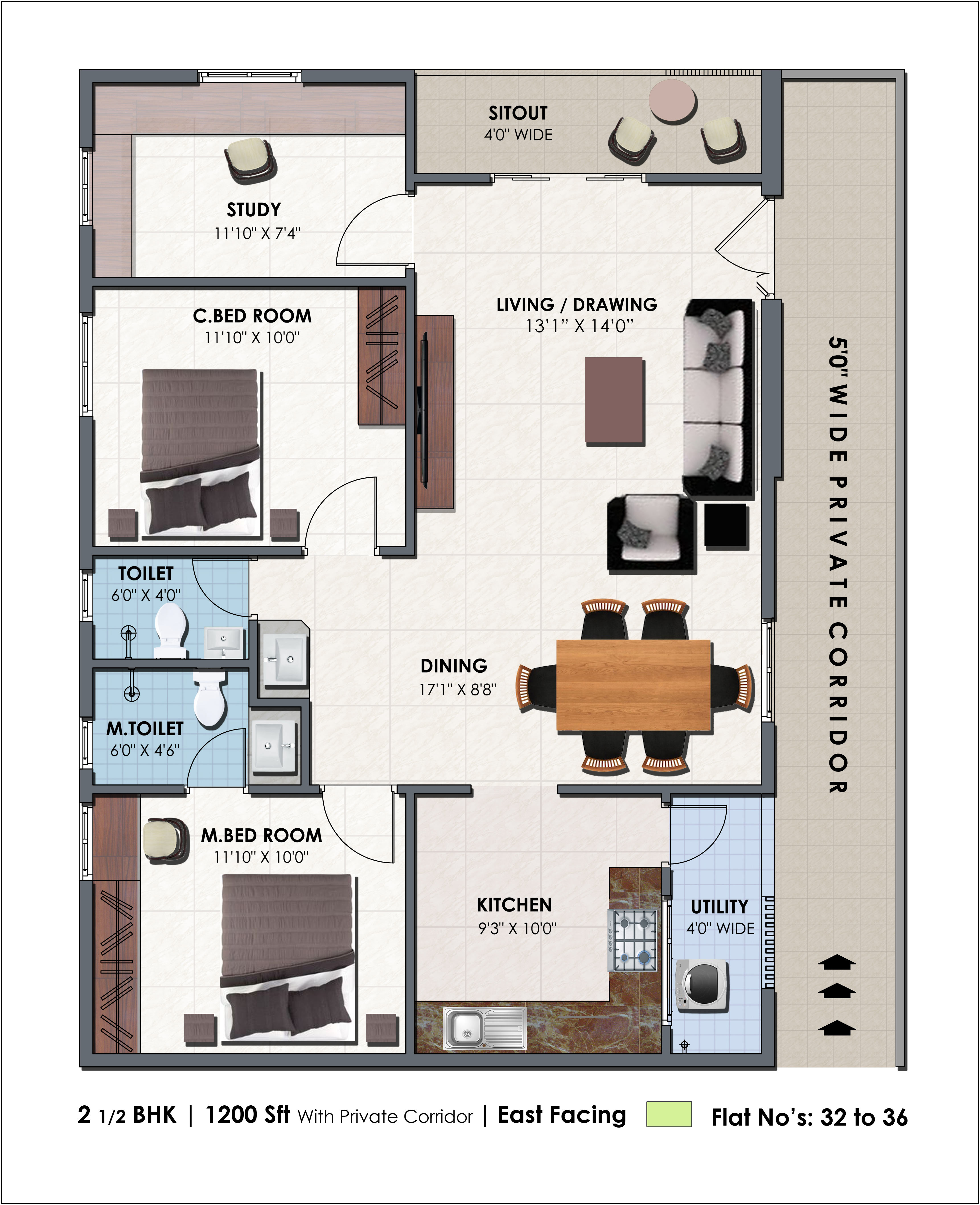Plan layout plan b skateboarding myspace layout bedroom layout plan - Floor Plan 2 5 Bhk 1200 On Request Click To View