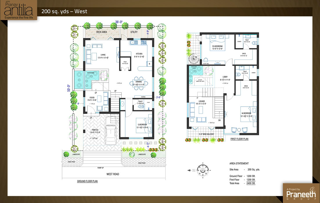 Floorplans on 4 Bedroom 2000 Sq Ft House Plans